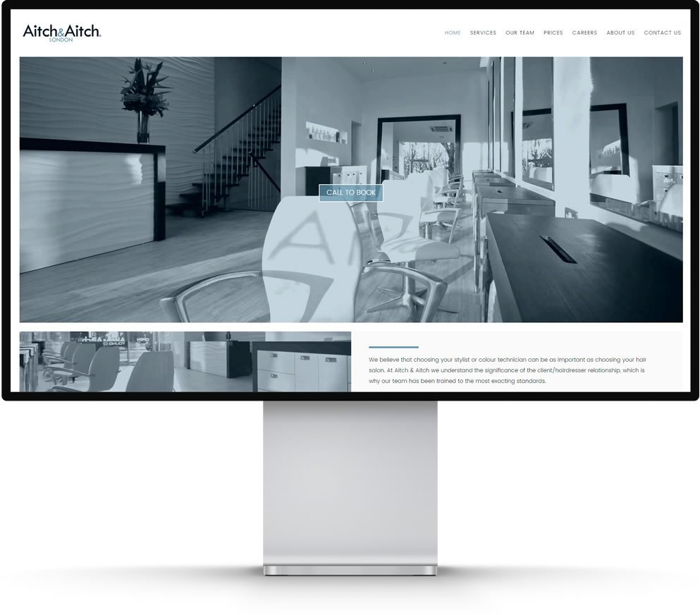 Aitch & Aitch Website Design Beckenham Kent